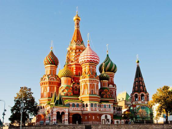 Cathédrale saint Basile, Moscou, Russie