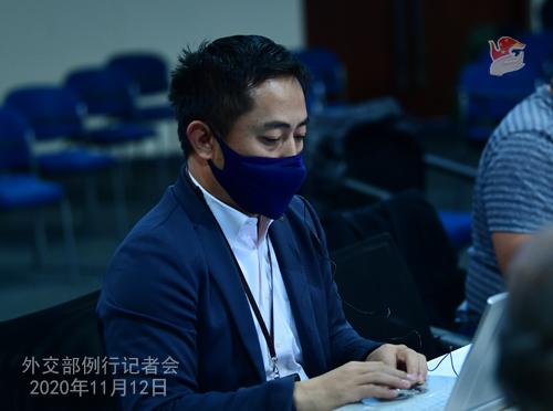 CHINE PH 12 Conférence de presse du 12 novembre 2020 tenue par le porte-parole du Ministère des Affaires étrangères Wang Wenbin