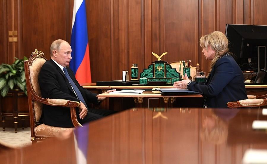 COMMISSION 2 XX 2 Rencontre avec la présidente de la Commission électorale centrale Ella Pamfilova - 6 novembre 2020