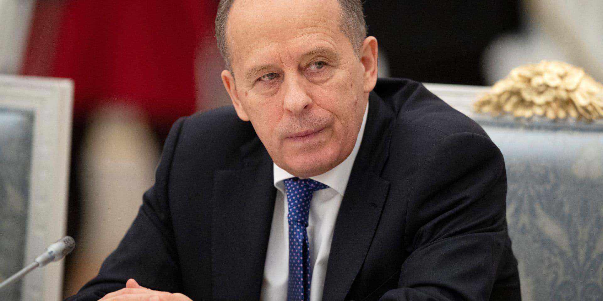 Directeur du FSB Alexander Bortnikov