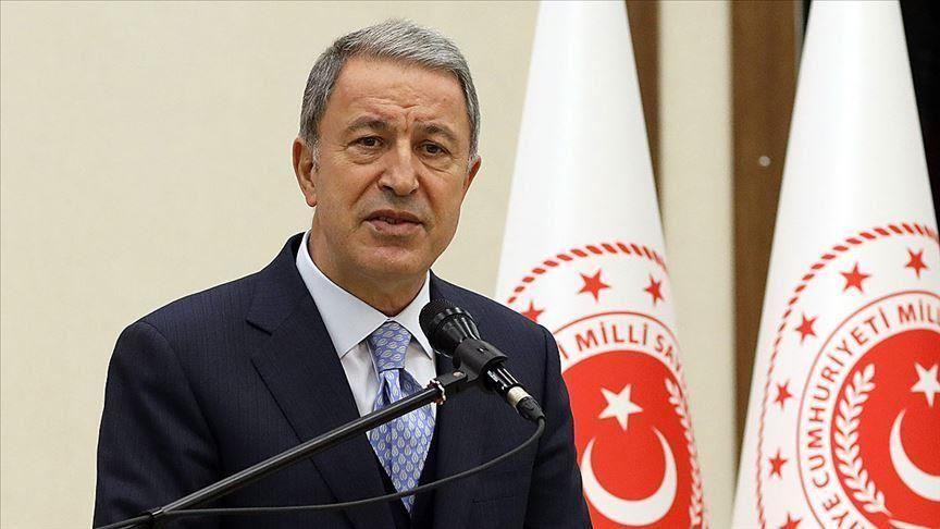 du Ministre turc de la Défense Hulusi Akar