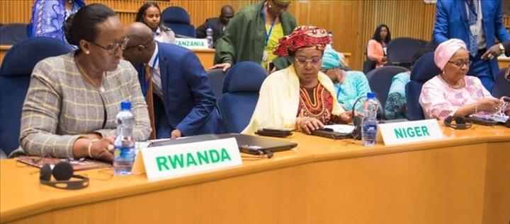 FEVRIER 2020 l'Organisation des Premières dames d'Afrique pour le développement (OPDAD)