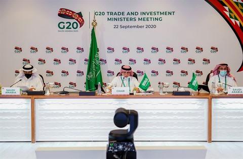 G20 en Arabie saoudite du 21 au 22 novembre 2020 CELUI CI EST DE SEPTEMBRE 2020