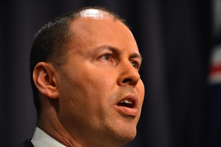 Josh Frydenberg, le ministre australien des Finances, à Canberra le 24 août 2018.