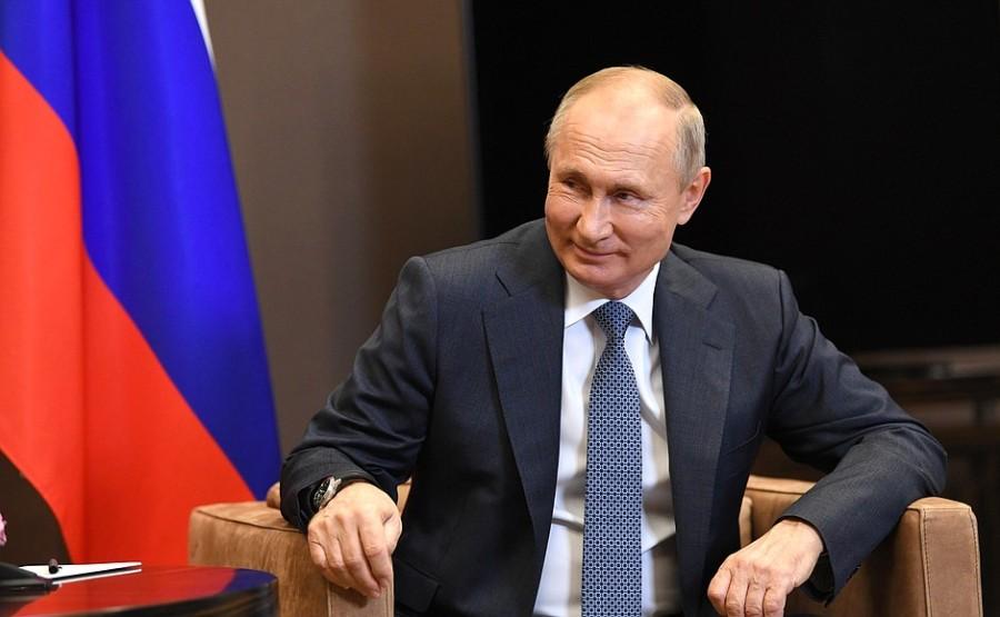 KREMLIN 3 XX 5 ABKHAZIE Entretien avec le président de l'Abkhazie Aslan Bzhania 12 novembre 2020