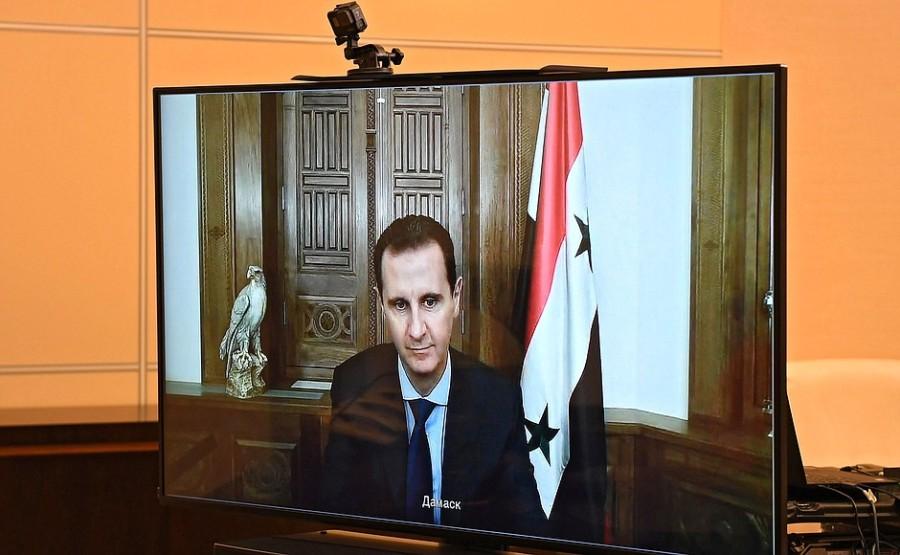 KREMLIN PH 2 SUR 4 Rencontre avec le président syrien Bachar al-Assad - 9 novembre 2020