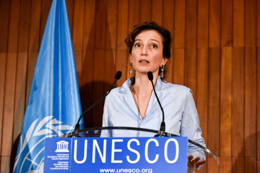 la Directrice générale de l'UNESCO, Mme Azoulay 2