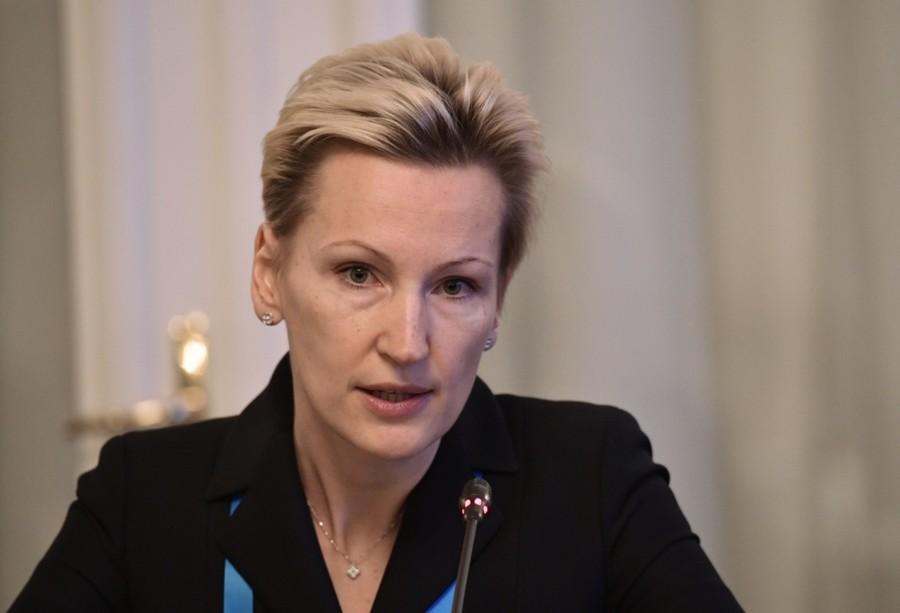 la présidente du conseil d'administration de Global Rus Trade, Anna Nesterova BRICS RUSSIE
