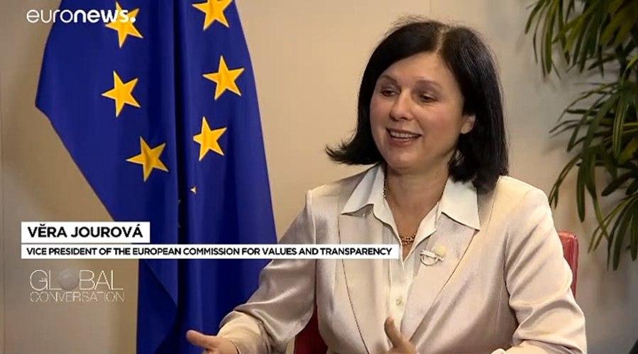 la vice-présidente de la Commission [Věra Jourová