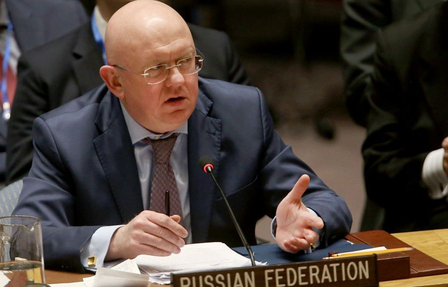 l'ambassadeur russe M.Nebenzia