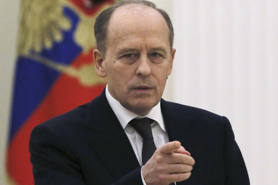le directeur du Service fédéral de sécurité Alexander Bortnikov