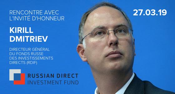 le Directeur général du Fonds russe des investissements directs, Kirill Dmitriev.