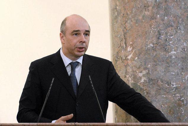 le ministre des Finances Anton Siluanov