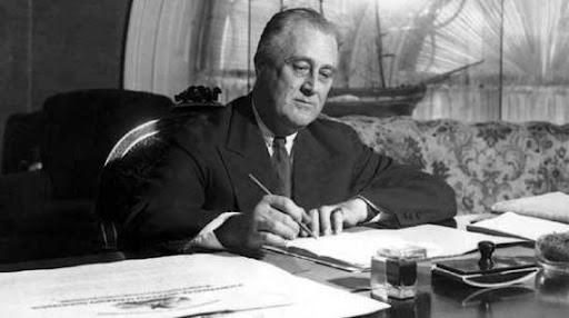 le New Deal de Franklin Roosevelt,