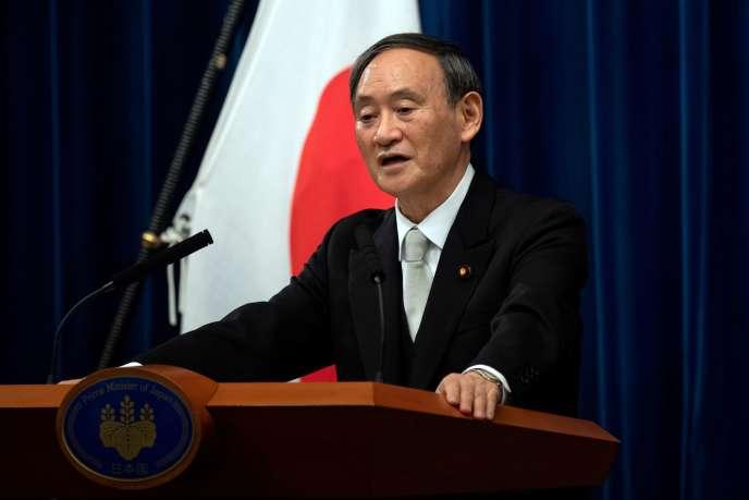 le Premier Ministre japonais Yoshihide Suga