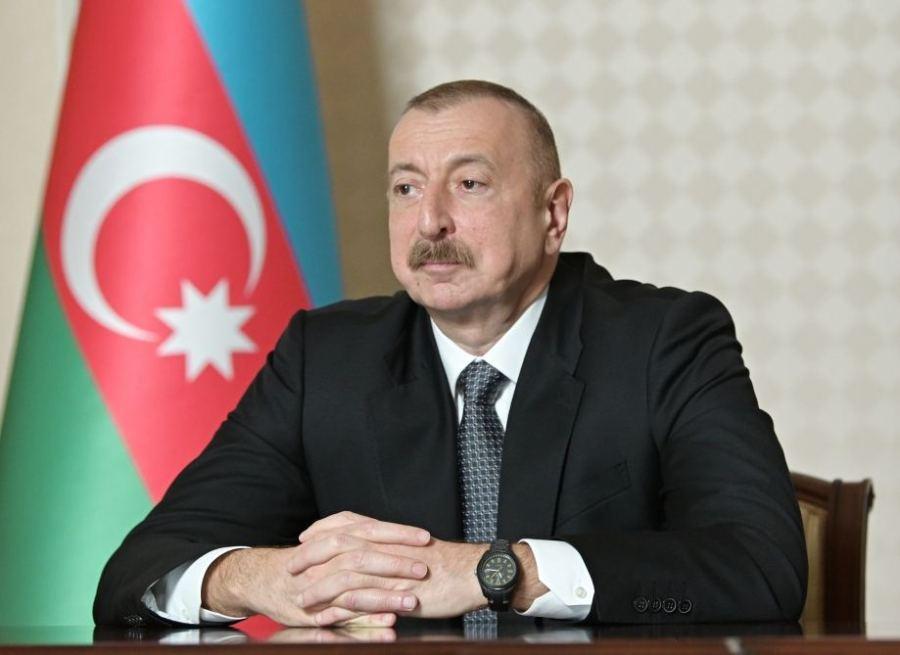 le Président azéri Ilham Aliev