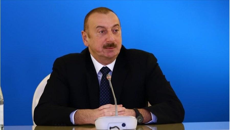 Le Président azéri Ilham Aliyev