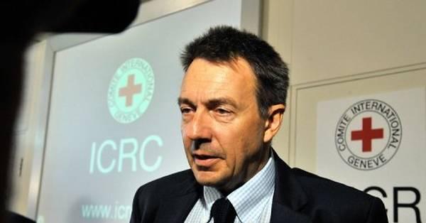 Le président de la Croix-Rouge, Peter Maurer