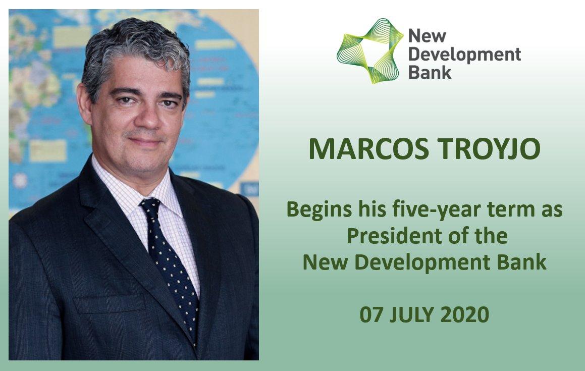 Le président de la nouvelle banque de développement, Marcos Troyjo BRICS