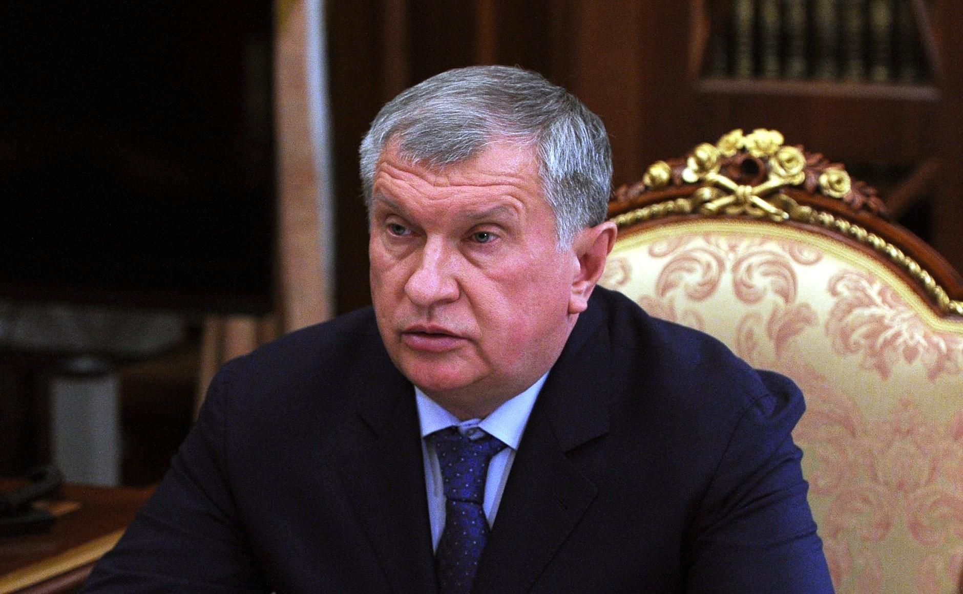 le président de VEB.RF Igor Chouvalov RUSSIE