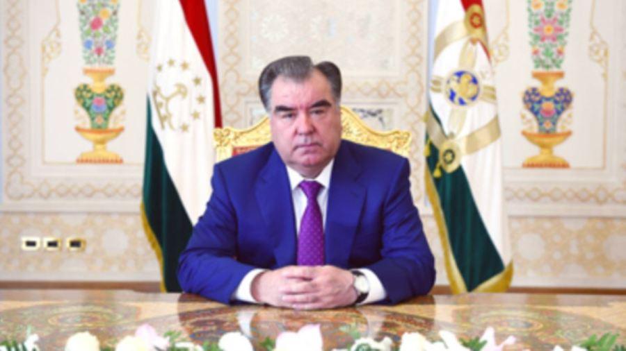le Président Emomali Rahmon