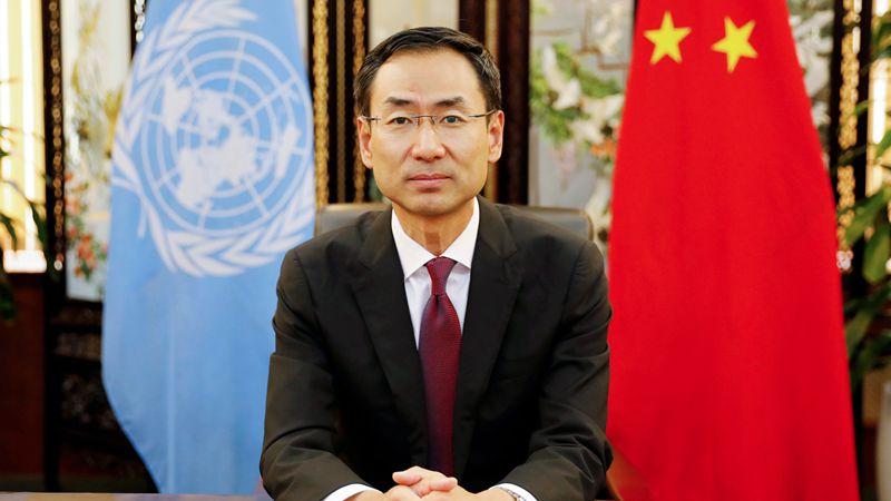 M.Geng Shuang,ambassadeur chinois