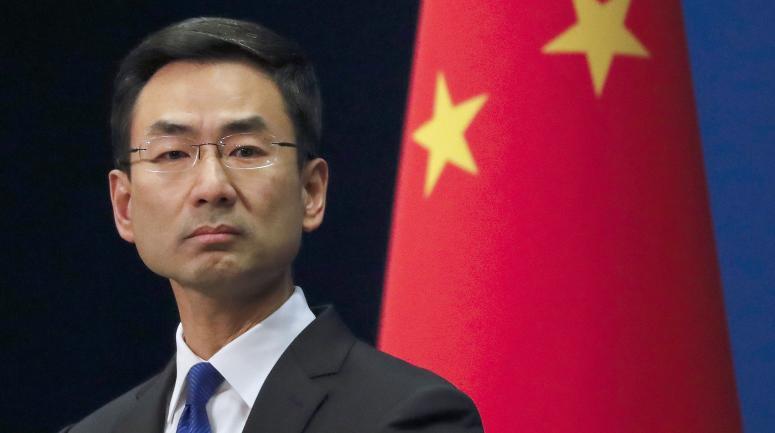 M.Geng Shuang,ambassadeur de Chine