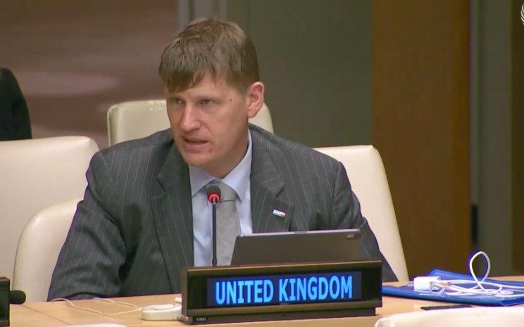 M.Jonathan Allen,ambassadeur britannique auprès des Nations unies b
