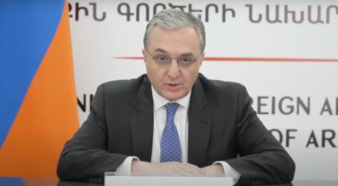 Ministre arménien des Affaires étrangères Zohrab Mnatsakanian