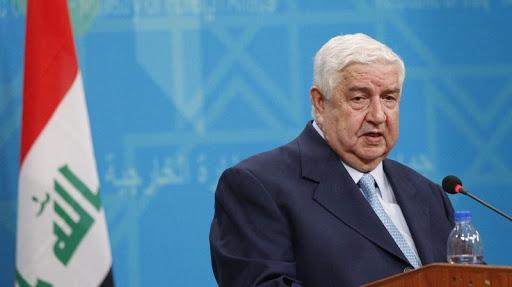 Ministre des Affaires étrangères de Syrie Walid al-Mouallem