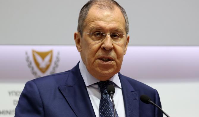 Ministre des affaires étrangères Sergueï Lavrov