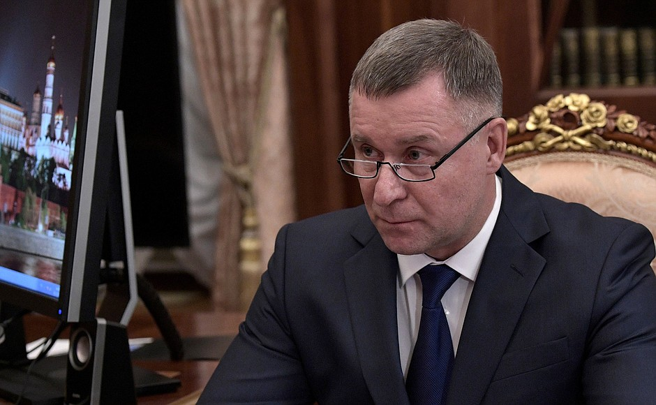 Ministre des urgences Yevgeny Zinichev kremlin