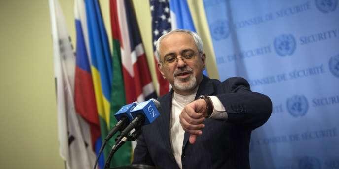Mohammad Javad Zarif, Ministre des Affaires étrangères de l'Iran