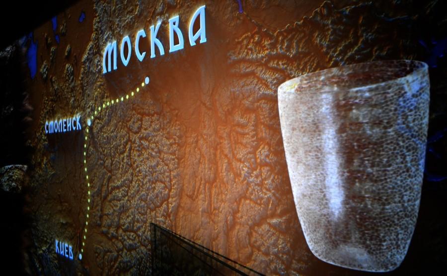MONASTERE KREMLIN 3 XX 6 Visite du musée d'archéologie du monastère de Chudov - 4 novembre 2020