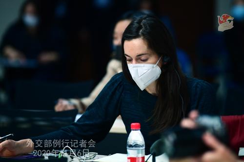 N°18 Conférence de presse du 6 novembre 2020 tenue par le porte-parole du Ministère des Affaires étrangères Wang Wenbin