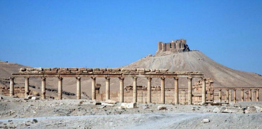 palmyreLa citadelle de la ville antique de Palmyre, en Syrie, le 28 octobre 2007 REUTERS Nour Fourat