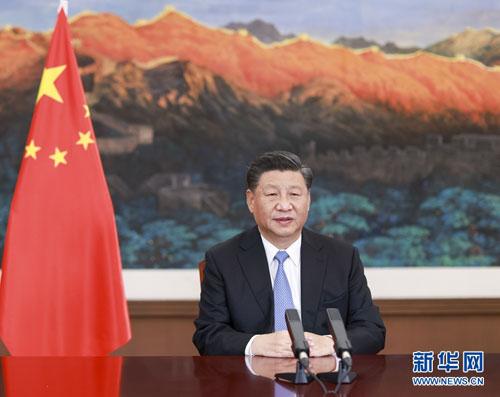 PLANETE PH 1 Xi Jinping prononce un discours à la Réunion thématique «Sauvegarder la Planète» du Sommet du G20 à Riyad
