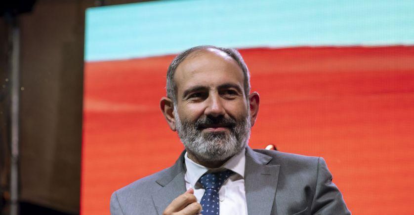 Premier ministre arménien Nikol Pachinian