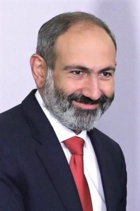Premier ministre de la République d'Arménie Nikol Pachinian