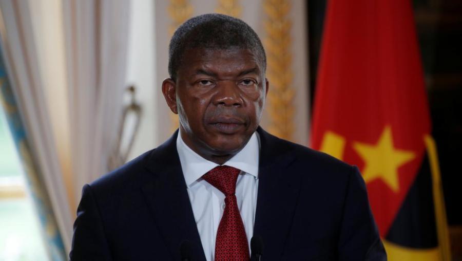 Président angolais João Lourenço