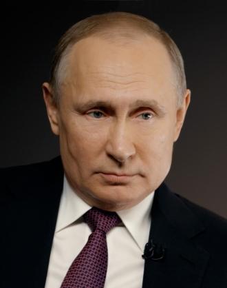 Président de la Fédération de Russie Vladimir Poutine