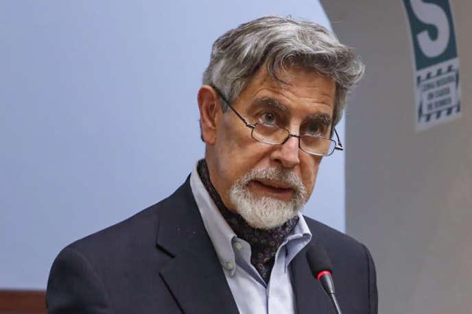 Président du Pérou Francisco Sagasti