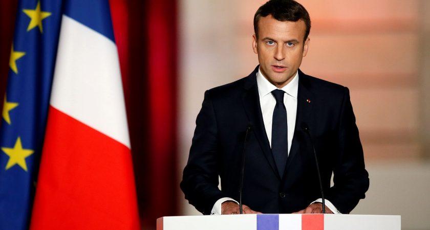 Président français MACRON