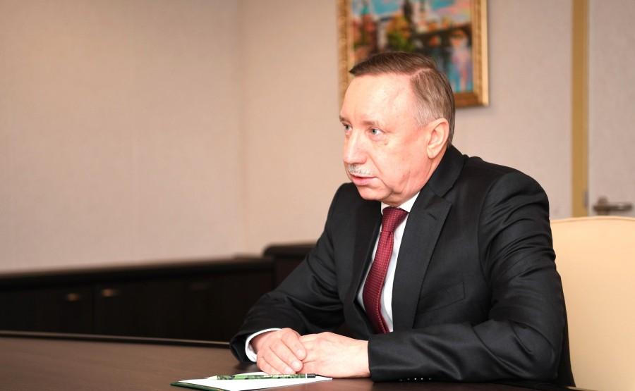 RUSSIE 3 SUR 3 Rencontre avec le gouverneur de Saint-Pétersbourg Alexander Beglov.
