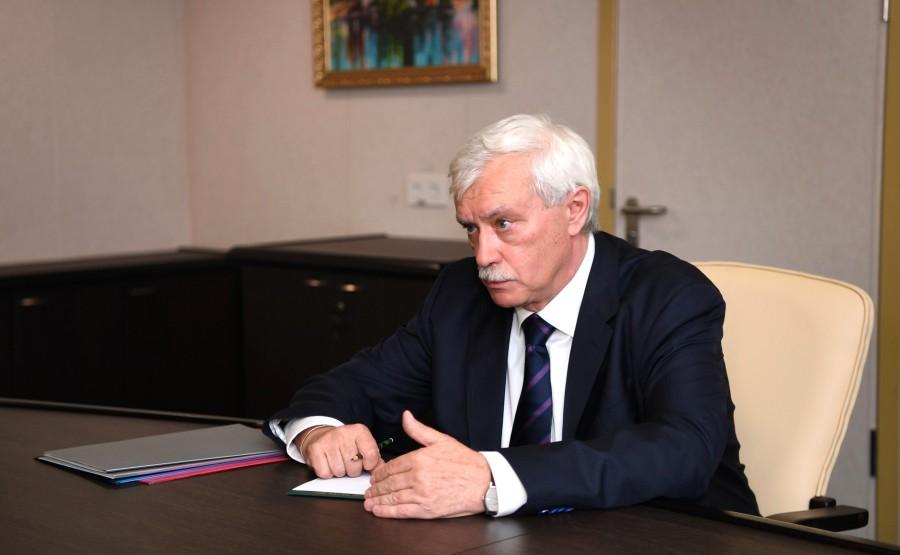 RUSSIE KREMLIN 2 XX 4 Rencontre avec le président du conseil d'administration de l'USC, Georgy Poltavchenko
