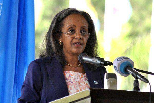 Sahle-Work-Zewde la Présidente éthiopienne Sahle-Work Zewde