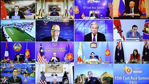 Sommet de l'Asie de l'Est