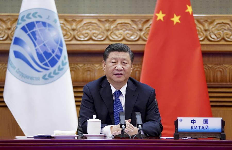 Xi Jinping le 10.11.2020 OCS