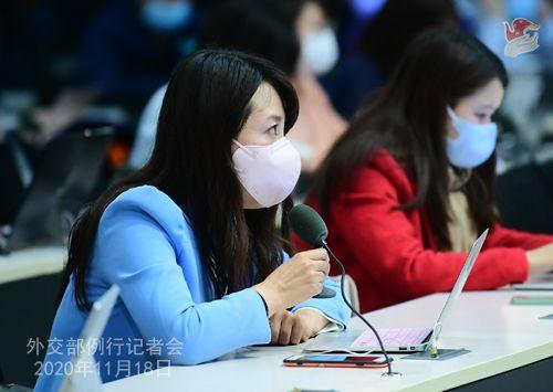 zhao lijian PH 19 Conférence de presse du 18 novembre 2020 tenue par le porte-parole du Ministère des Affaires étrangères Zhao Lijian