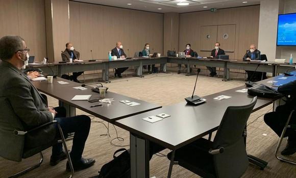 4e session de la Commission rédactionnelle du Comité constitutionnel syrien.